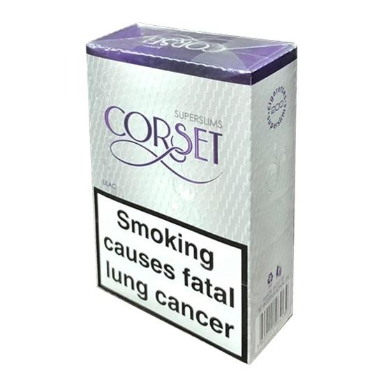 Corset Lilac Super Slim cigarettes Tax Free on Sale - Duty Free Pro
