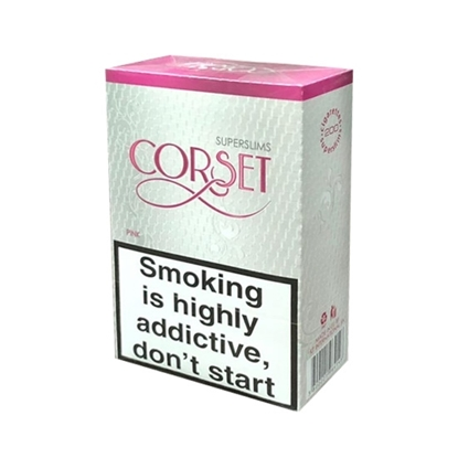Corset Pink Super Slims Cigarettes Tax Free on Sale - Duty Free Pro