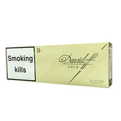 cheap cigarettes online Davidoff Gold carton