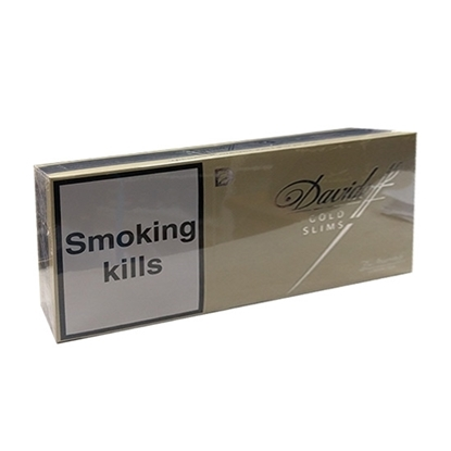 cheap cigarettes online Davidoff Gold Slims carton