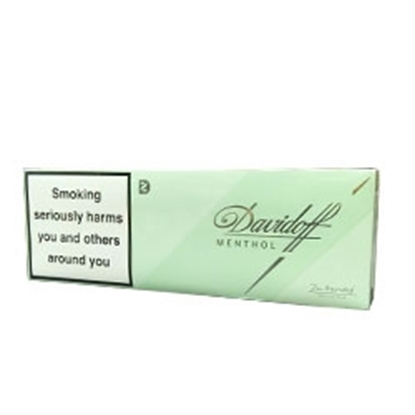 cheap cigarettes online Davidoff Menthol King Size Cigarette carton