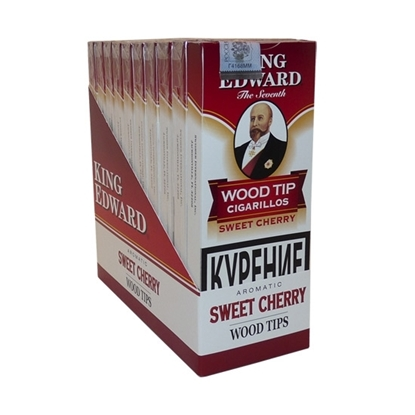 king edward tip cherry cigars tax free on sale