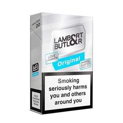 cheap cigarettes online Lambert & Butler Silver carton