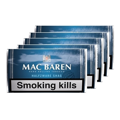 mac baren halfzware shag tobacco tax free on sale