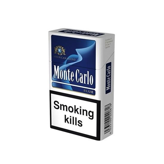 cheap cigarettes online Monte Carlo Blue carton