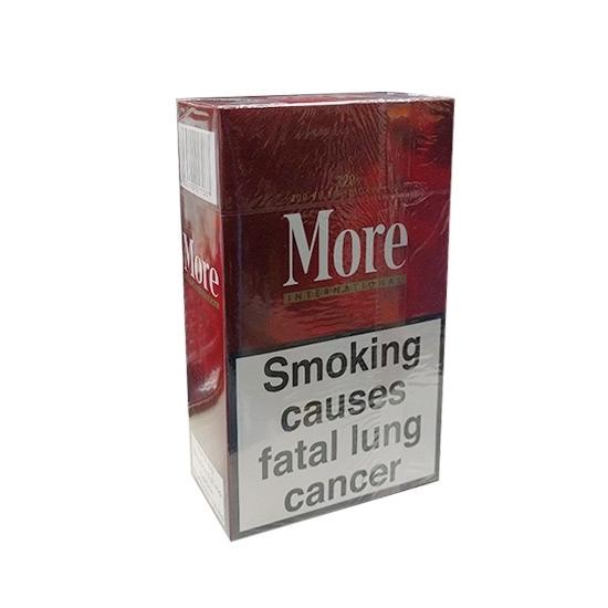 cheap cigarettes online Special Price-More International 120s Cigarette carton