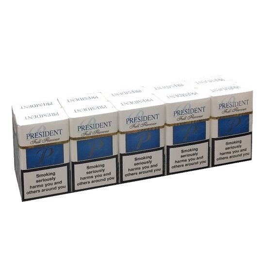 cheap cigarettes online President Full Flavour carton