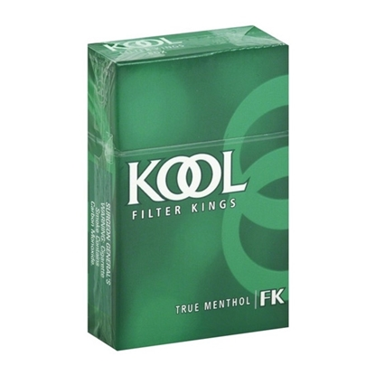 cheap cigarettes online Kool Menthol King Size Box Cigarette carton