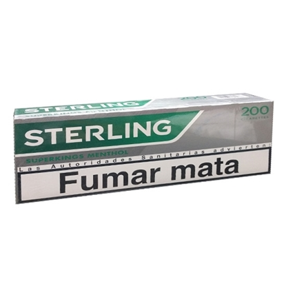 cheap cigarettes online Sterling Superking Menthol carton