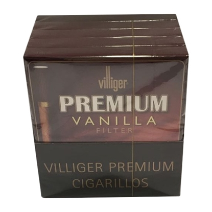 villiger premium vanilla filter cigars tax free on sale