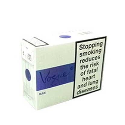 cheap cigarettes online Vogue Blue Super Slim carton