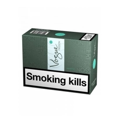 cheap cigarettes online Vogue Frisson Menthol Super Slim carton
