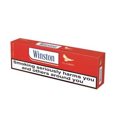 winston red cigarette king size box tax free on sale