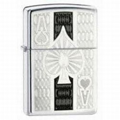 zippo ace of spades lighter tax free on sale